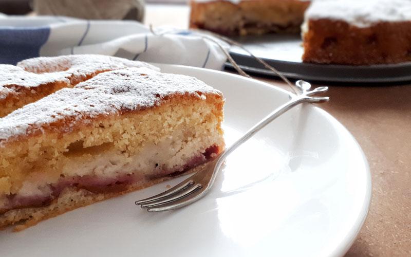 Jednostavan kolač sa šljivama